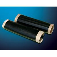 China Black color Polyethylene Heat shrinkable sleeves with epoxy resin coating primer and closure patch for the pipe joints on sale