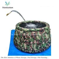 China Veniceton self-supporting watr storage bag, collapsible onion water tanks on sale
