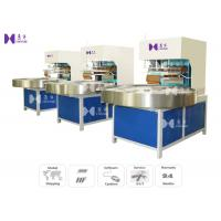 China LED Light 27.12MHZ Blister Packaging Machine Automatic Turntable 4 Work Stations wholesale