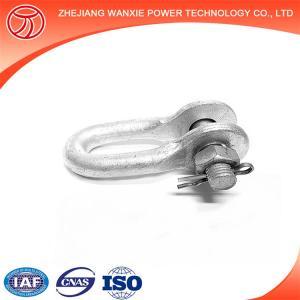 China shackle US bolt anchor shackle marine D shackle wholesale