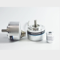 China 190 Grams 8mm Solid Shaft Encoder 1440ppr D Type Incremental Encoder CE Certified wholesale
