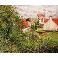 China Impressionist(3830) Houses_at_Knocke,_Belgium_1 wholesale