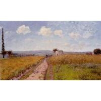 China Impressionist(3830) June_Morning,_View_over_the_Hills_over_Pontoise wholesale