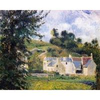 China Impressionist(3830) Houses_of_l-Hermitage,_Pontoise wholesale