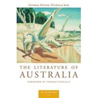 China Anthologies The Literature of Australia: An Anthology The Literature of Australia wholesale
