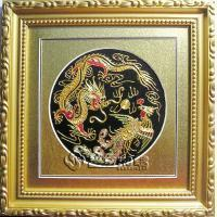 Embroidery Craft-Dragon and Phoenix