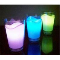 China Plastic LED Night Light Color Changing Milk Cup A320-5pcs wholesale
