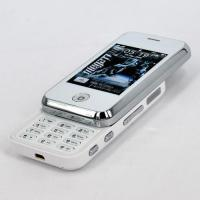 China MINI K77 Dual Card Quad Band FM Java Touch Screen Slide Cell Phone White wholesale