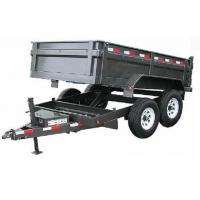 China tandem tipping trailer wholesale