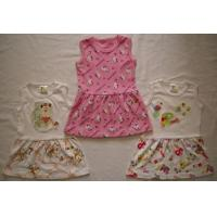 China infant's wear MA9050-BABY'S DRESS WITH PICOT BINDINGS wholesale