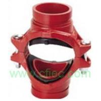 China Fire fighting grooved fittings  Cross, Mechanical Grooved wholesale