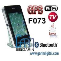 Buy cheap iPhone 4 F073 3.5 inch GPS WIFI TV JAVA Dual cards mobile phone from wholesalers