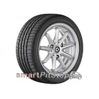 Buy cheap 15'' 9-spoke alloy wheels, Design 2 (Silver) from wholesalers
