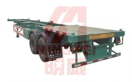 Quality Frame Semi-trailer with Rear Board for sale