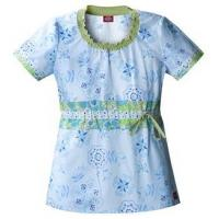 China Smocked Round Neck in Pop Up Posies wholesale