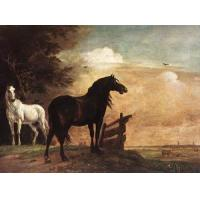 China Oil Painting horses_f wholesale
