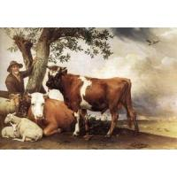Buy cheap Oil Painting y_bull from wholesalers