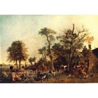 Buy cheap Oil Painting the_farm from wholesalers