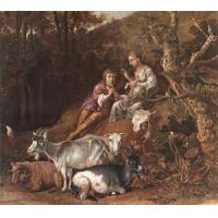 Buy cheap Oil Painting shepherx from wholesalers