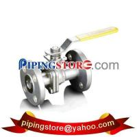 China 2-PC Flanged End Ball Valves wholesale