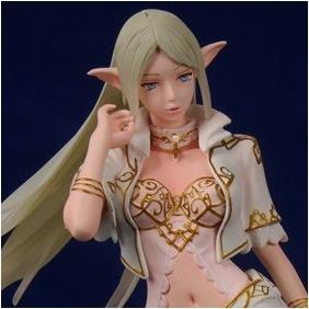 Quality Lineage 2 Action Poly-resin Figure ELF with white(Pre-painted /GK) for sale