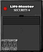 China Liftmaster Garage Door Opener Plug-In ReceiverModel 635LM With Security+ Technology wholesale