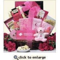 China Breast Cancer Awareness Gift Basket For The Cure wholesale