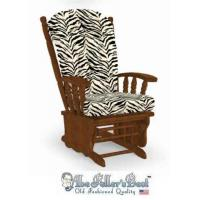 China Glider Rocker Cushion for Candace Chair Zebra Glider Rocker Replacement Cushions Larger Size wholesale