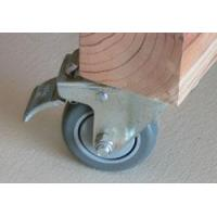 China Total Locking Casters - Caster Model 3A - Plate Mount wholesale