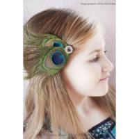 China Peacock Feather Clip,Peacock Wedding Fascinator,Bridal,Bridesmaids,Flower Girls Hair Accessory on sale