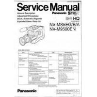 Buy cheap Panasonic NV-M9500EN HI-FI HQ Camcorder Service Manual PDF from wholesalers