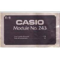 Buy cheap Casio CL-301 CL301 Module 243 LCD Watch User's Manual PDF from wholesalers