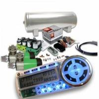 China Helix Dual Compressor 8 Preset Digital Air Suspension Controller Kit No Bags wholesale