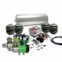 China Helix Delux 2 Compressor Air Bag Suspension System with Digital 8 Preset AirCommand Controller wholesale