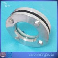 China flange sight glass clear flanged stainless steel round glass plate on sale