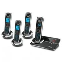 China Uniden DECT3080-4 DECT 6.0 Cordless Digital Answering System with 3 Extra Handsets wholesale
