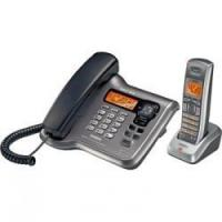 China Uniden DECT2088 DECT 6.0 Corded/Cordless Phone with Answering System with Caller ID wholesale