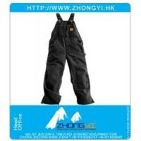 China Work Clothing Insulated Sandstone Bibs wholesale
