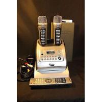 China Enter Tech Magic Sing ED-11000 All-in-One Karaoke System w/ Wireless Microphones on sale