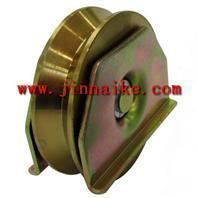 Buy cheap Sliding Gate Wheel automatic sliding gate wheel yellow zinc V groove from wholesalers