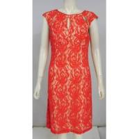 China Famous Name Floral Lace Ponte Cut-Out Dress. Size 12. wholesale