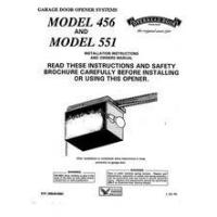 China LOCATE A PART BY MODEL NUMBER MODEL # 456 & 551 OWNER'S MANUAL on sale