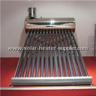 China Solar Accessories Rooftop Non-Pressure Solar Water Heater wholesale