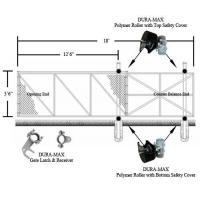 China Dura-Max Cantilever Slide Gate Kit 4' x 12' (1.22 m x 3.66 m) wholesale