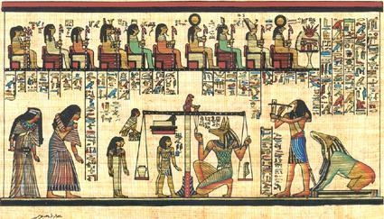 Quality Papyrus Egyptian Papyrus Paintings for sale