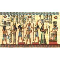 China Papyrus Egyptian Papyrus Paintings on sale
