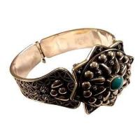 Buy cheap Egyptian Jewelry Oxidized Egyptian Silver Bracelet from wholesalers