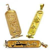 Buy cheap Egyptian Jewelry Personalized Egyptian Cartouche Jewelry from wholesalers