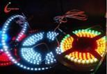 DAGU-S-005 SMD5050Great Wall Silicone Tubing + Crystal Epoxy Waterproof Strip SMD-LED Light