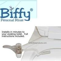 China Bariatrics Biffy Personal Rinse Toilet Attachment with Instructions - wholesale